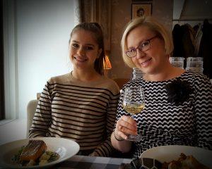Ravintola Strindbergillä lounaalla 10.11.2016